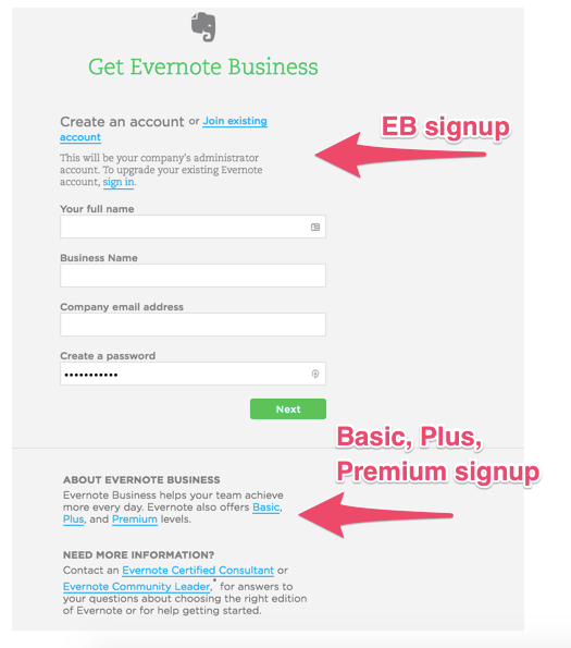 Pricing and Plan Changes at Evernote: What Happened? - How to Sign Up