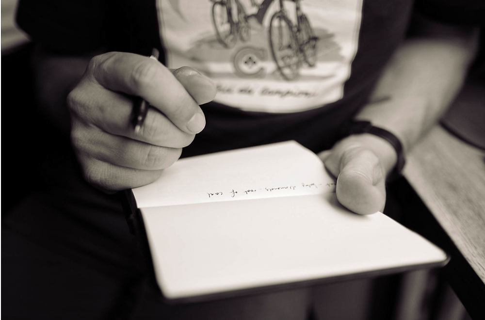 Organize Your Mind - Write your thoughts down. Carry a pocket-sized notebook and pen for whenever you might need it.
