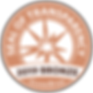 GuideStar Seal of Transparency Bronze 2019
