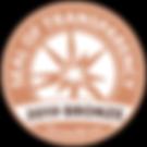 GuideStar Seal of Transparency Bronze 2019