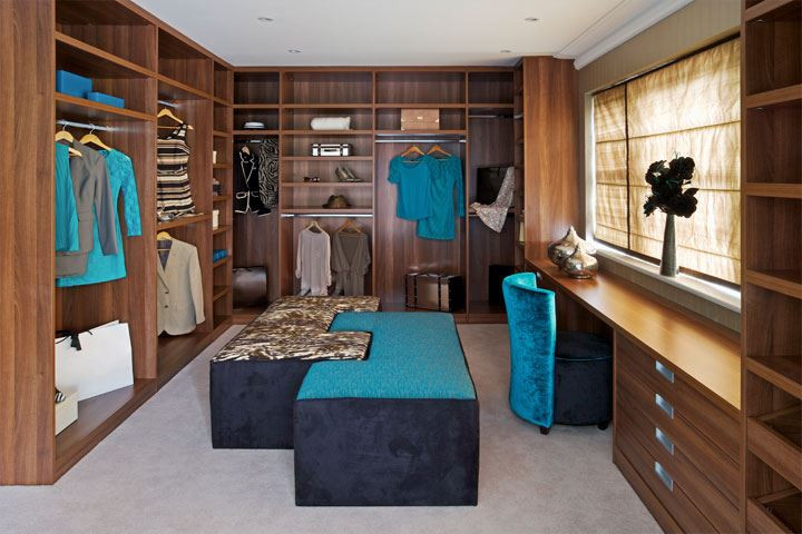 OLWH: Unusual Uses for a Spare Bedroom - Create a Master Walk-In Closet
