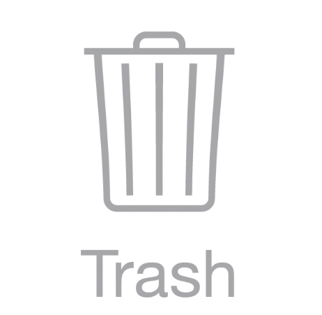 Take out the Trash: empty your digital trash can on your desktop, in your mail, and anywhere else you can scrap data!