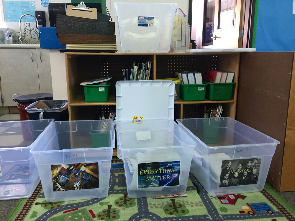 OLWH: Back to School - Organizing a Classroom / Clear bins for specific supplies