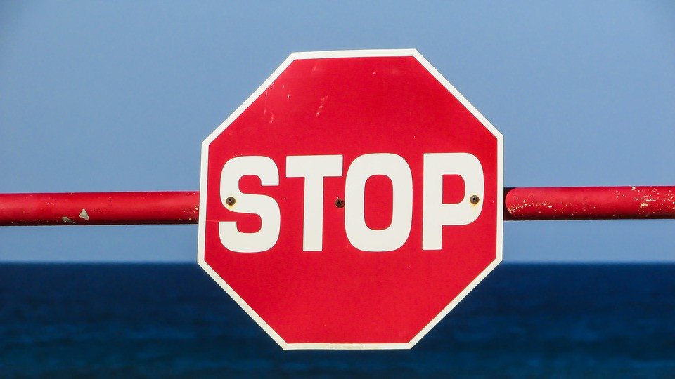 Did anyone notice you were on vacation? I hope so - Turn Off your Notifications: Stop sign