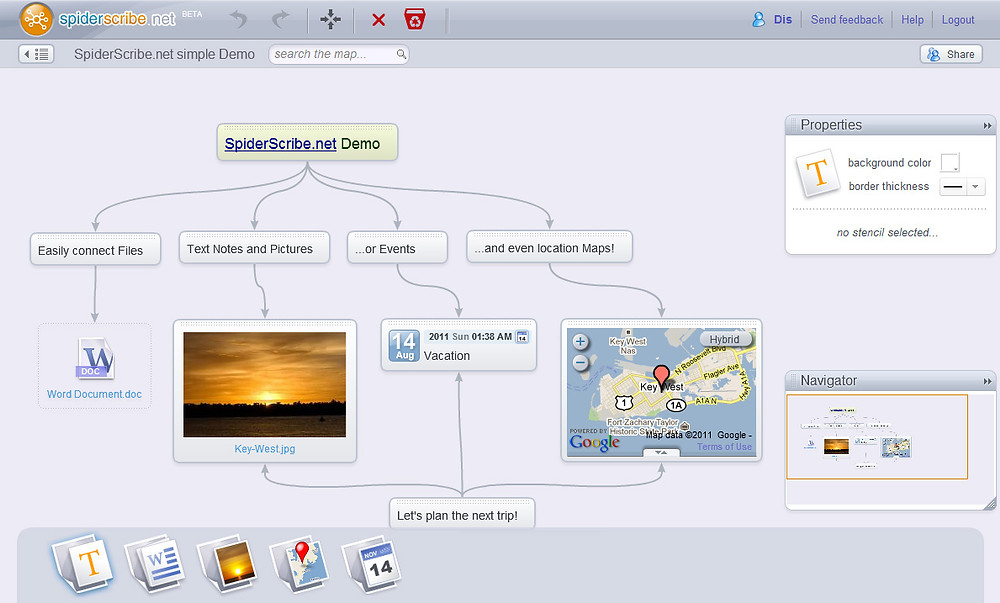 Organize Your Thoughts With Mind Mapping Tools - SpiderScribe
