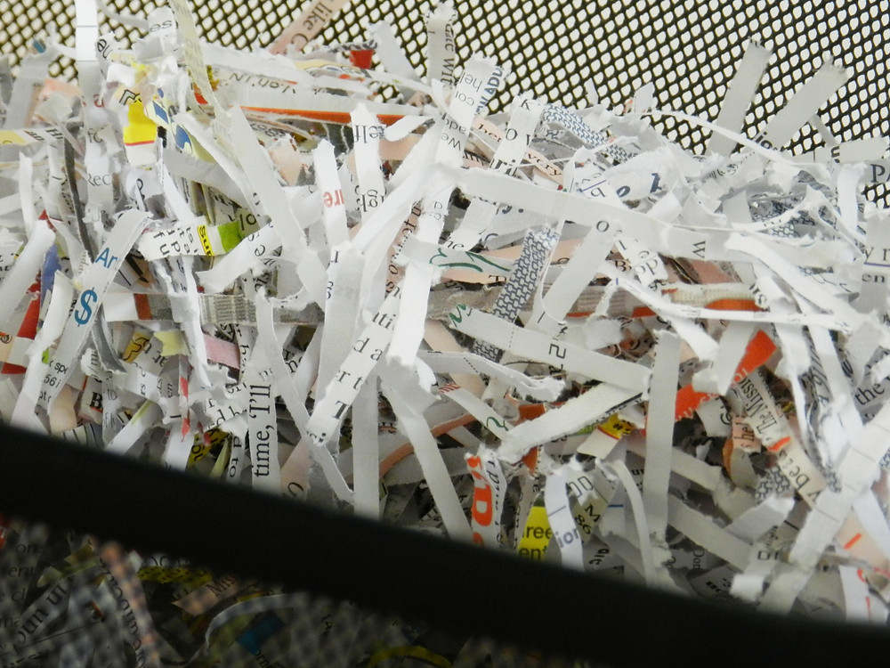Scan, Shred, or Store? A Checklist to Eliminate Paper Piles - What to Shred? Shredded Documents