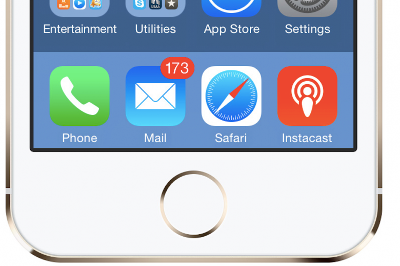 Inbox Zero? Maybe Not. Inbox Manageable? Absolutely! - Red circular badge notification icon on upper right corner of Apple Mail icon on an iPhone