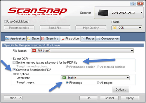 Scansnap Ocr Existing Pdf Download