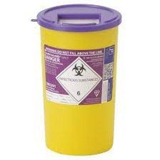 5 Litre Purple Sharps Bin