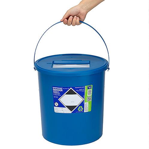 22 Litre Blue Sharps Bin