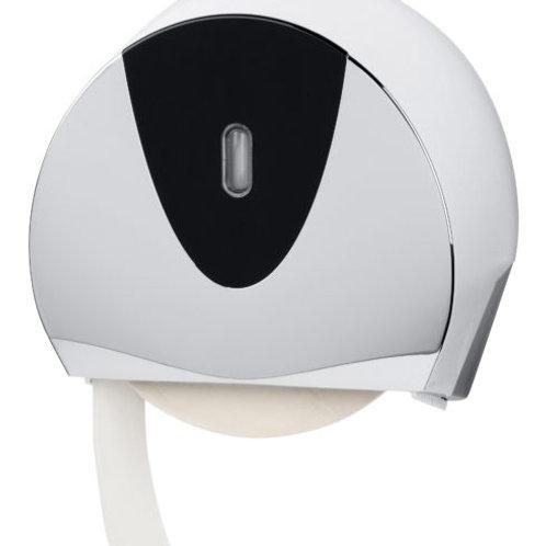 Mini/Jumbo Toilet Roll Dispenser Chrome