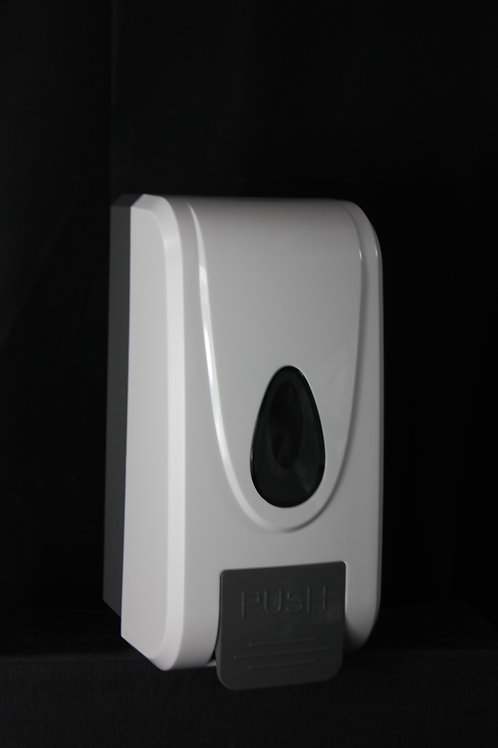 1 Litre Manual Push Soap or Sanitiser Dispenser