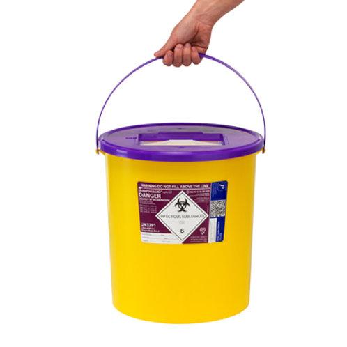 22 Litre Purple Sharps Bin