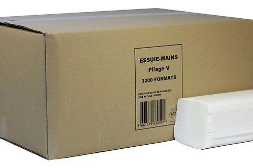 Lucart V-fold 2 Ply White Paper Hand Towel