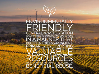 We're Environmentally Friendly