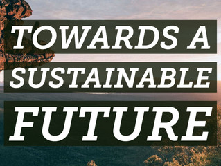 Working Towards a Sustainable Future