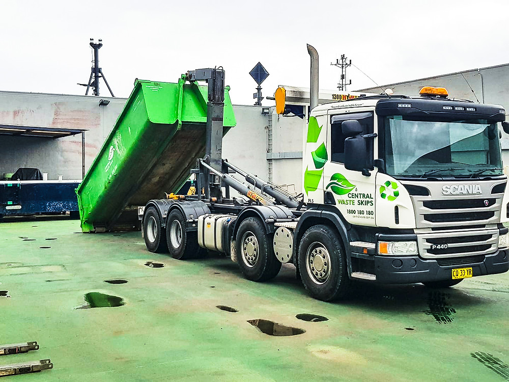 Our Scania Hook Lift Truck