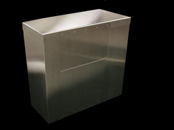 Angled Bin with Removable Lid