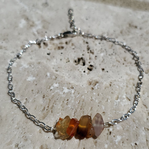 Amber Minimalist Bracelet