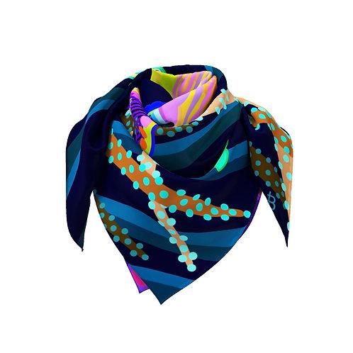 Rainbow Fairy Wrasse Classic Silk