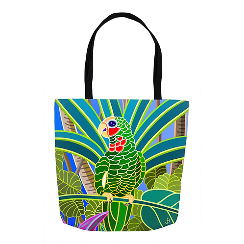 Cayman Parrot Tote
