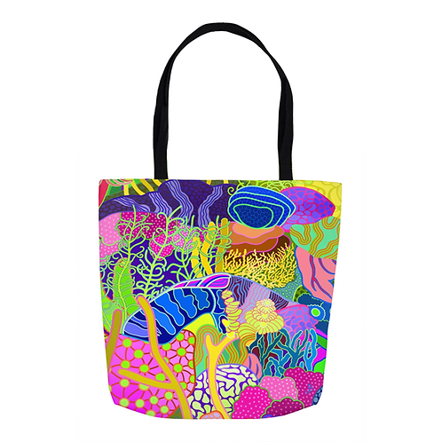 Cascades Abstract Tote
