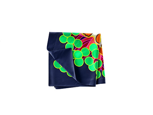 Clown and Anemone Pocket Silk