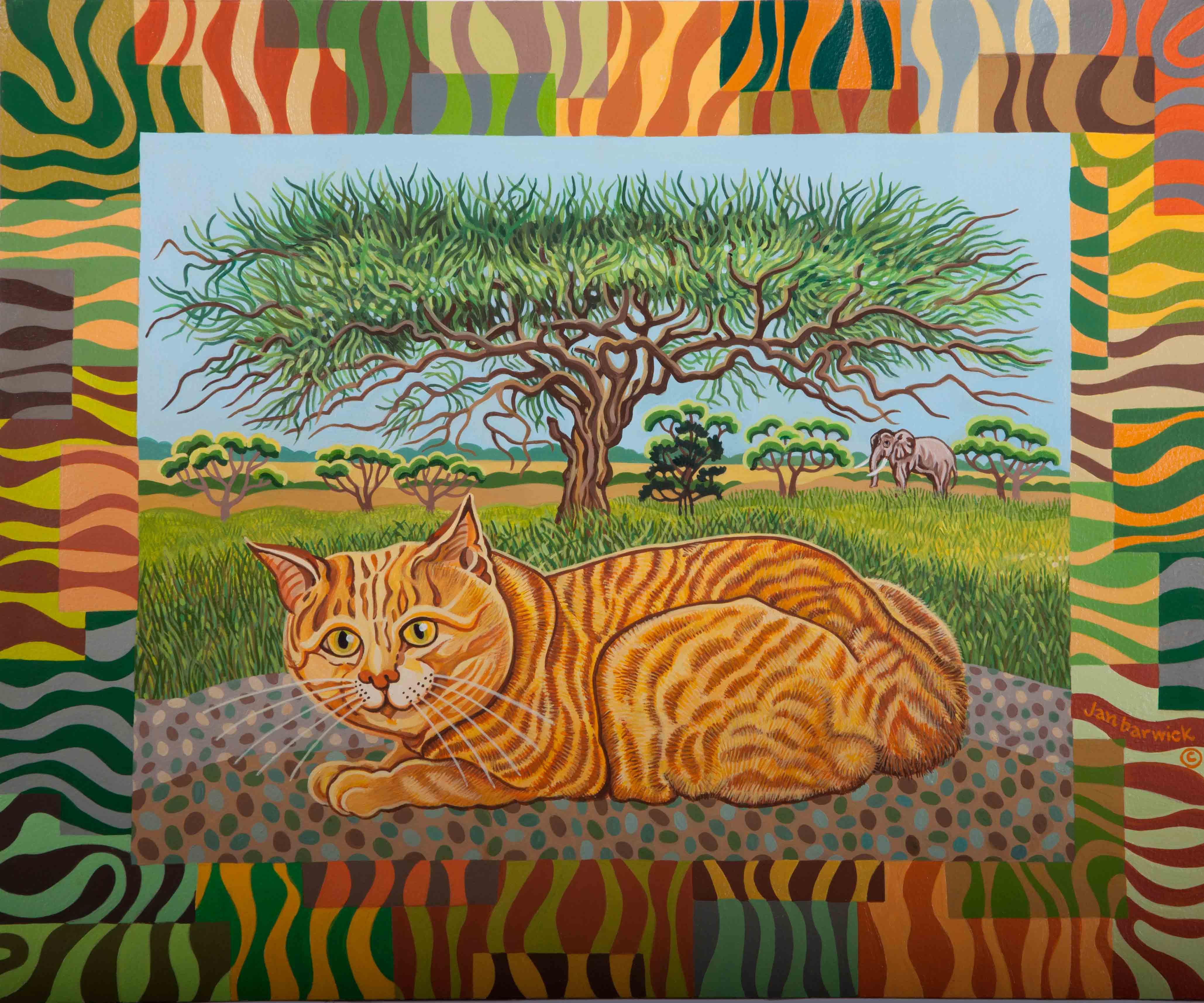 Adventures of an African Cat 1