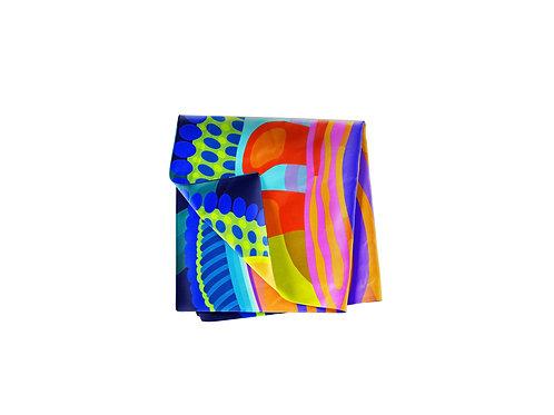 Rainbow  Kaleidoscope Pocket Silk