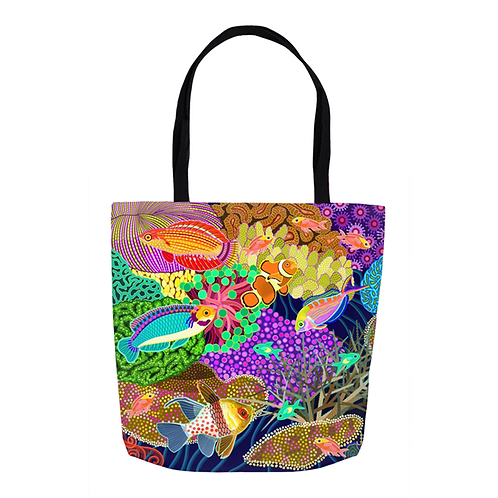 Golden Triangle Reef Tote