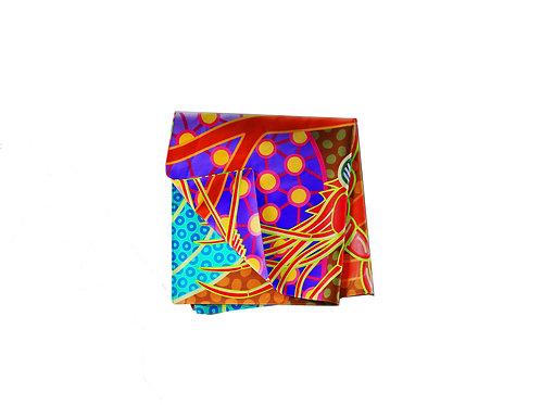Banded Coral Shrimp Pocket Silk