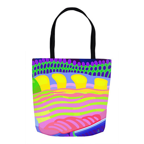 Candy  Kaleidoscope Tote