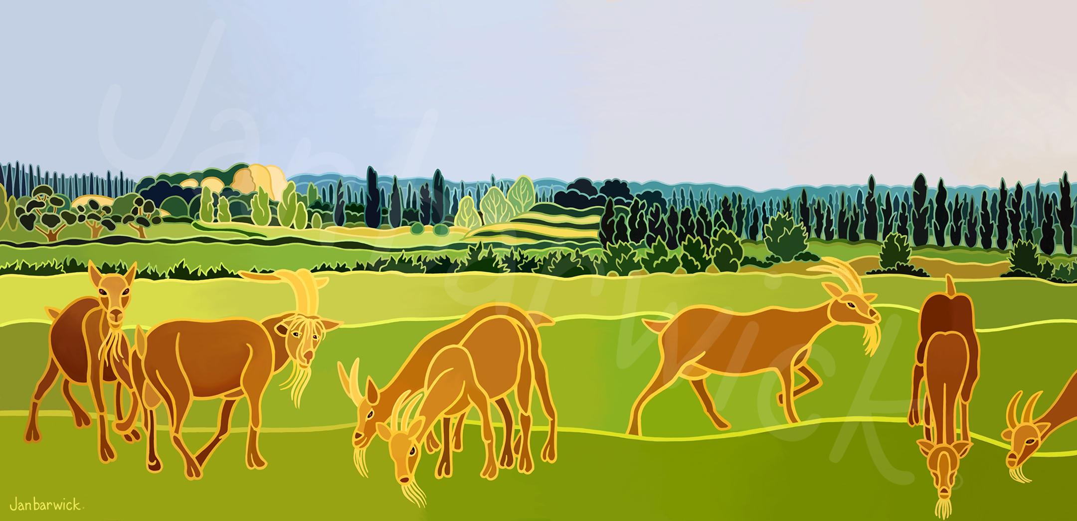 Chêvres Provençales