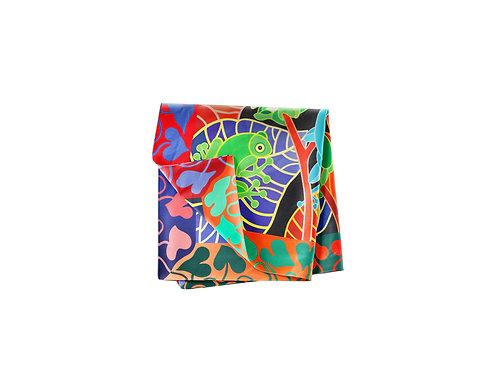 Tree Frogs Pocket Silk