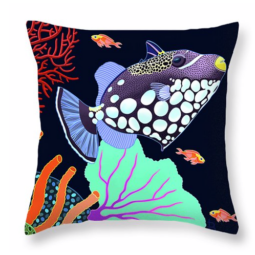 Spotted Triggerfish on Jet Pillow