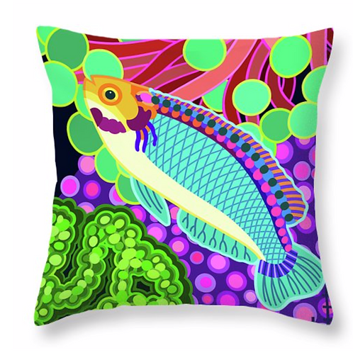Solan Fairy Wrasse Pillow