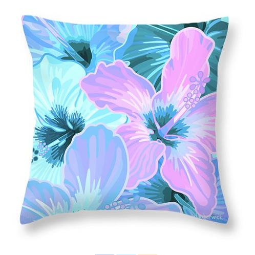 Hibiscus Spring Purples & Blues