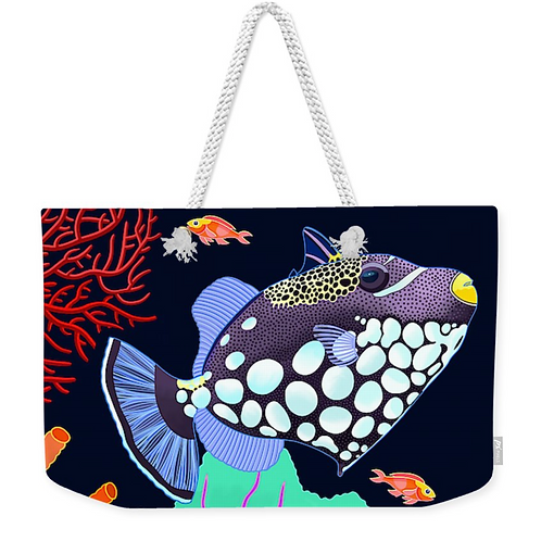 Spotted Triggerfish Carry All