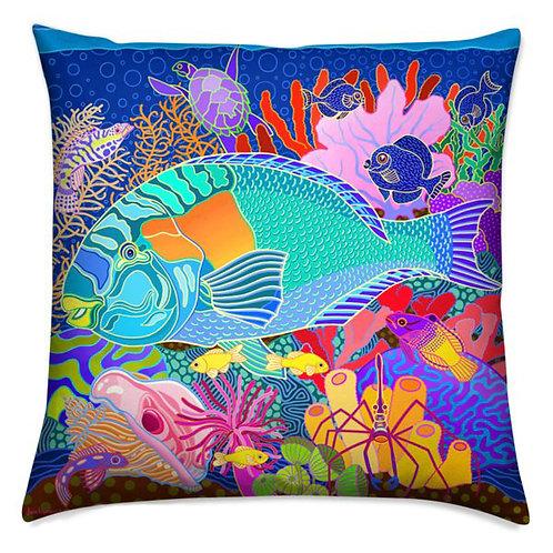 Coral Calm Pillow