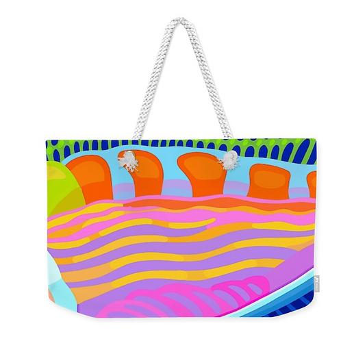 Rainbow Kaleidoscope Carry All