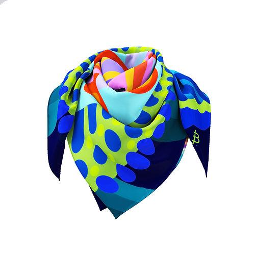 Rainbow  Kaleidoscope Classic Silk