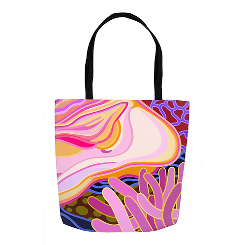 Curves in Punchy Pink Tote