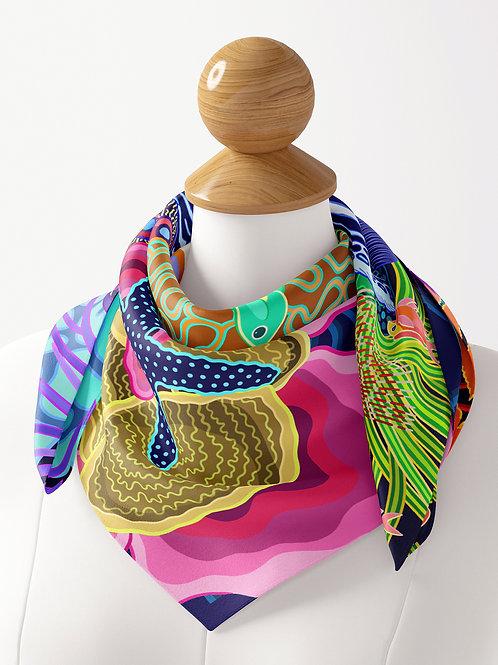 Great Barrier Reef Luxe Silk