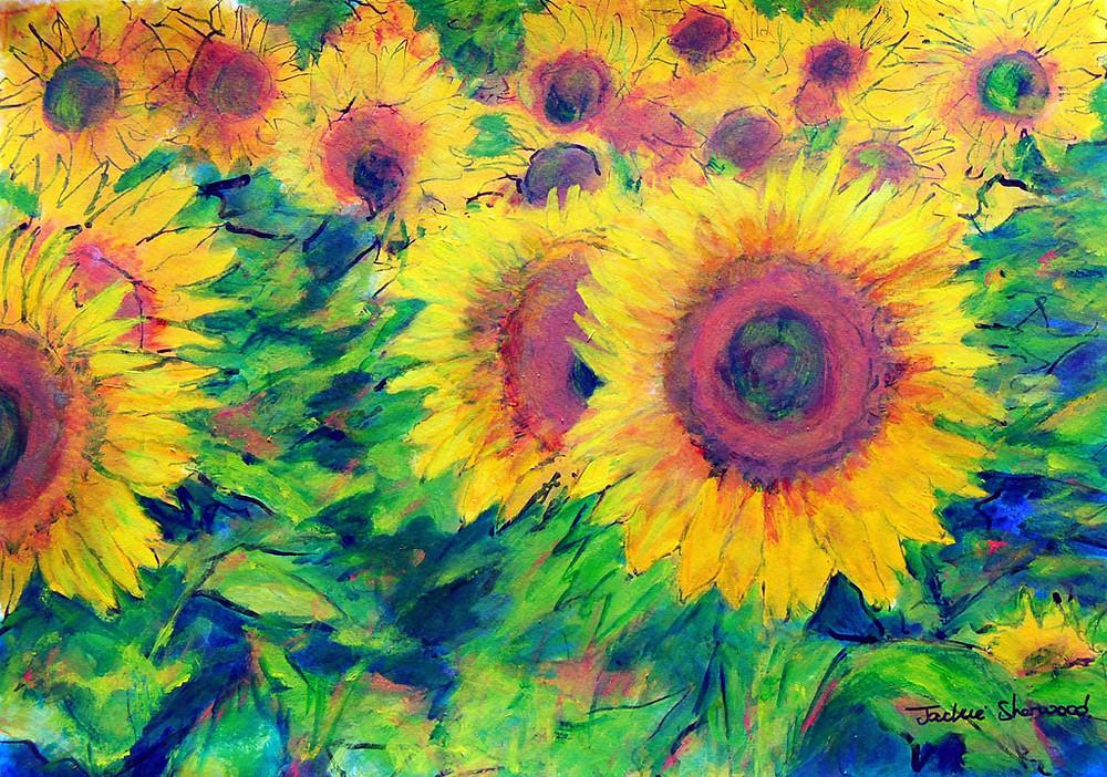 Arles Sunflowers, Provence.jpg