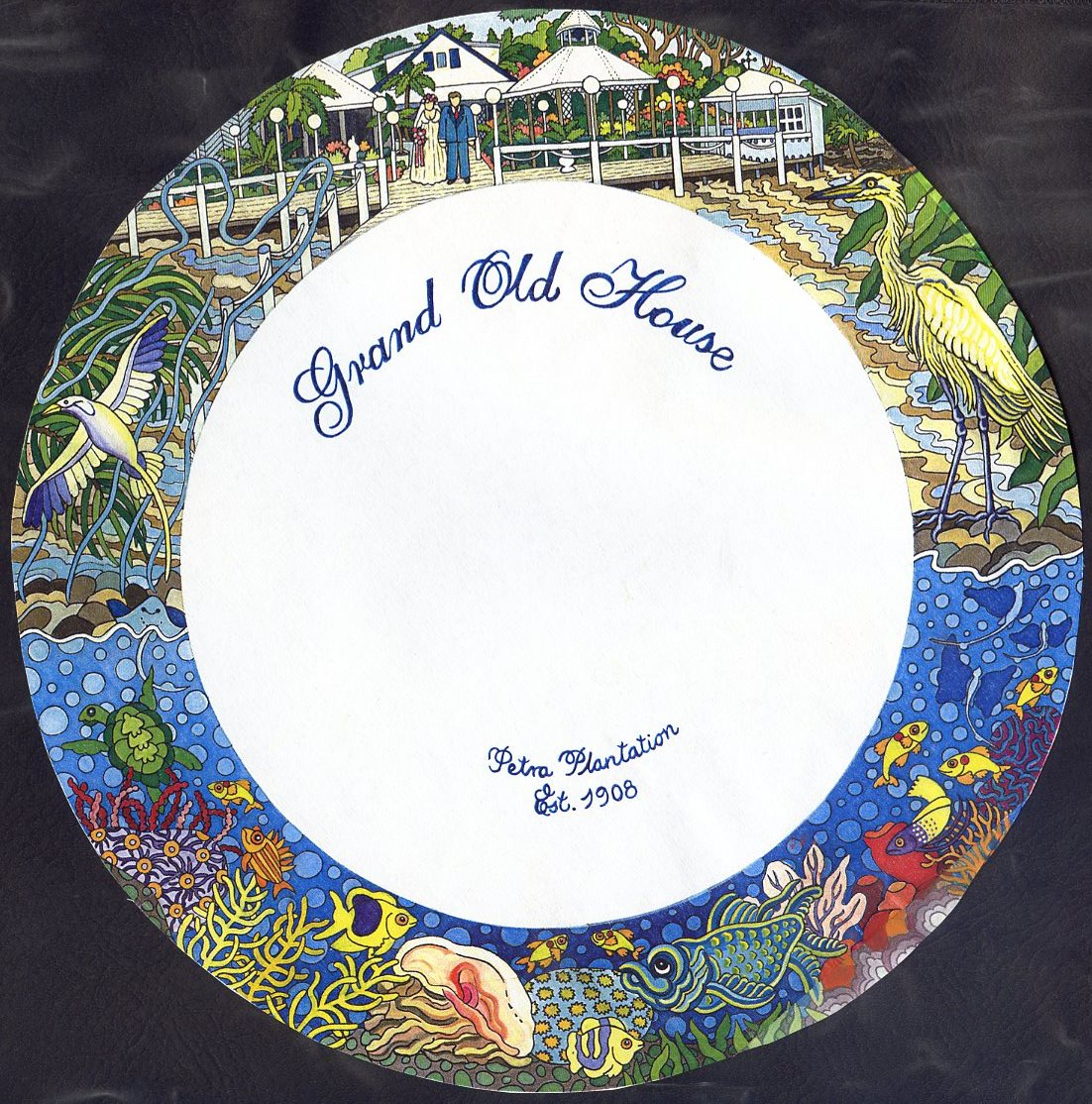 Grand Old House Charger Plate