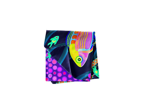 Rainbow Fairy Wrasse Pocket Silk