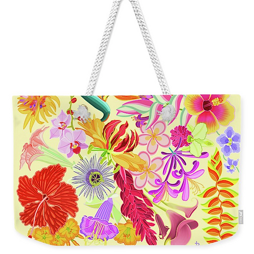 Sunny Flora Tropicale Carry All