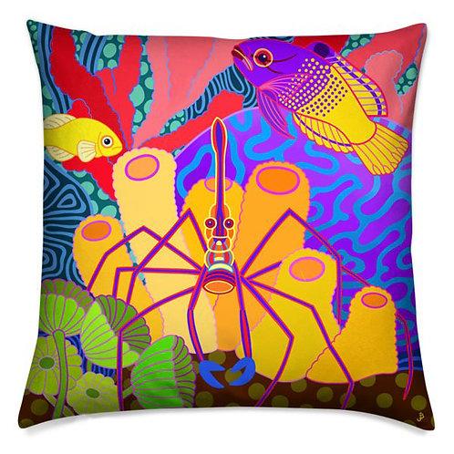 Arrow Crab Pillow