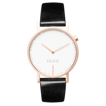 FELIX B Ren Dag Rose Gold/White/Black - Leather - NOK 1299,- I BUY NOW 👉