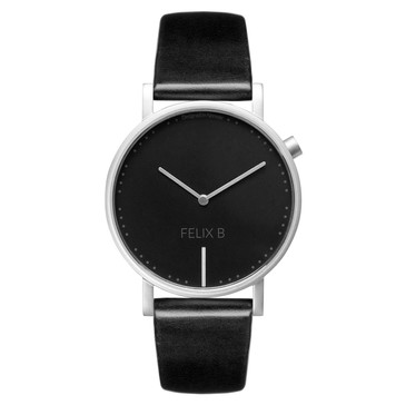 FELIX B Ren Natt Silver/Black/Black - Leather - NOK 1299,- I BUY NOW 👉
